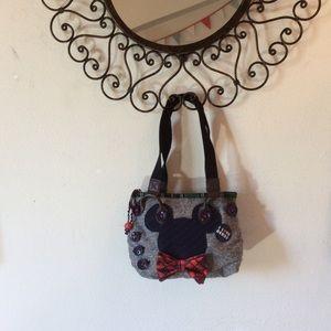 Disney Bags - Disney Nerdy Nerd Mickey Mouse Mini Purse Bag